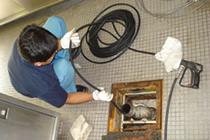 排水槽の管理