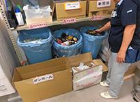 ゴミの分別回収処理